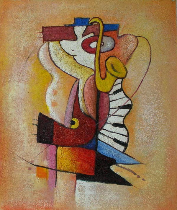 the gallery for abstract paintings of musical instruments. Black Bedroom Furniture Sets. Home Design Ideas